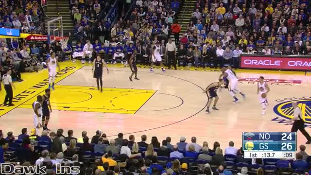 Watch Stephen Curry Full Highlights 2016.03.14 vs Pelicans - 27 Pts, 5 Dimes in 3 Quarters! GIF on Gfycat. Discover more basketball, nba GIFs on Gfycat