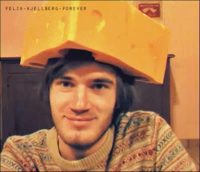 Watch Possible Futures GIF on Gfycat. Discover more Felix kjellberg, Mine, My gifs, Pewdie, Pewdiepie, Pewdiepie gifs, Pewds, Swedish, Youtube, Youtuber, broarmy, brofist, cute, felix arvid ulf kjellberg, hats GIFs on Gfycat