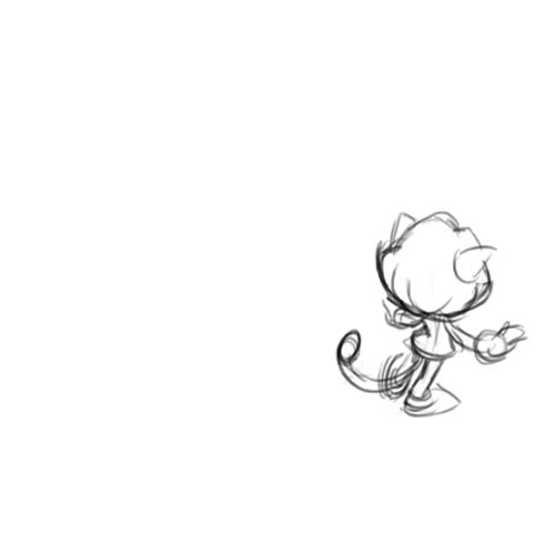 Watch and share Backflip Pencil Test By Chibi-jen-hen GIFs on Gfycat