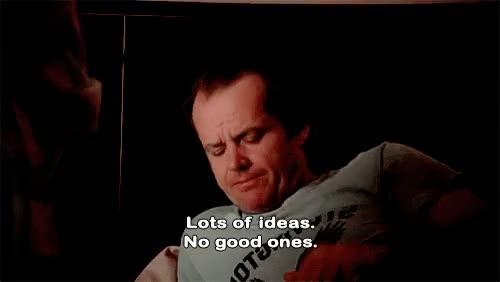 Watch and share Stanley Kubrick GIFs and Jack Nicholson GIFs on Gfycat