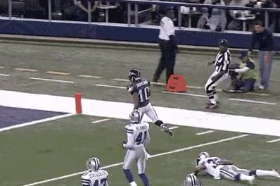 Watch and share Djax Did This Following A 91 Yard Touchdown GIFs on Gfycat
