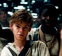 Watch and share Tmr Newt Imagine GIFs and Thomas Sangster GIFs on Gfycat