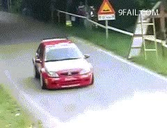 Watch and share Rally Car Wheel Falls Off Gif GIFs on Gfycat