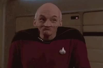"""Watch and share Riker Is As Suave As It Gets [TNG: """"Up The Long Ladder"""" S02, E18] : Startrek GIFs on Gfycat"""