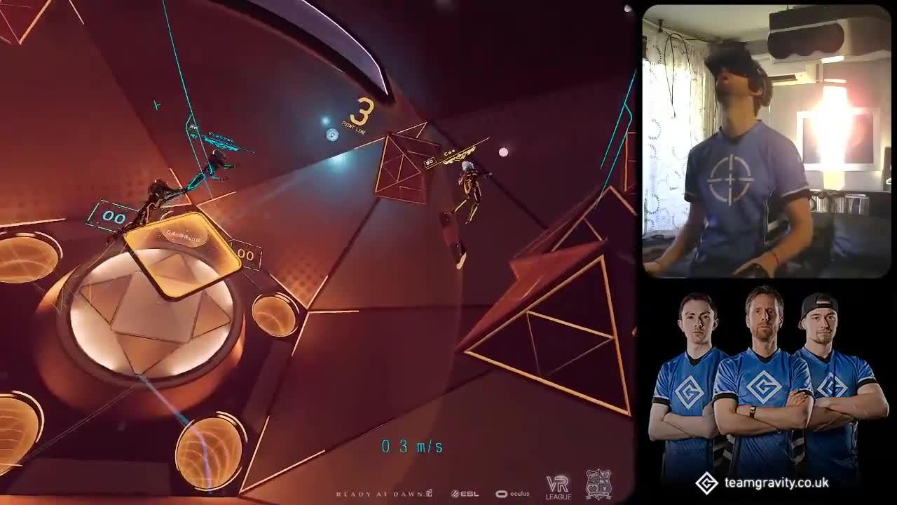 arena, echo, esl, oculus, rad, reality, virtual, virtualreality, vr, vrcl, VRL S2 EU Echo Arena Week #6 Match 4: Gravity vs. Smash Dash GIFs