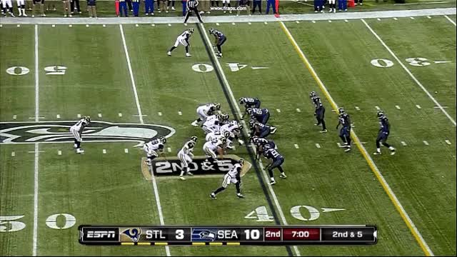 Watch and share Play 24 - Kam Chancellor Vs Sam Bradford. Excellent Job By Chancellor Reading Bradford And Jumping The Short Route. GIFs on Gfycat