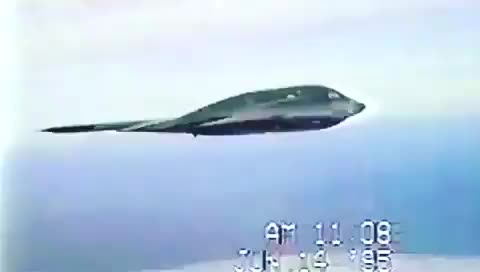 Watch and share B2 Stealth Flying Through Turblence GIFs by saleh on Gfycat