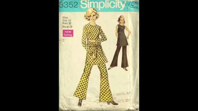 Vintage Dancing Patterns vintage sewing funny dancing Humor GIF