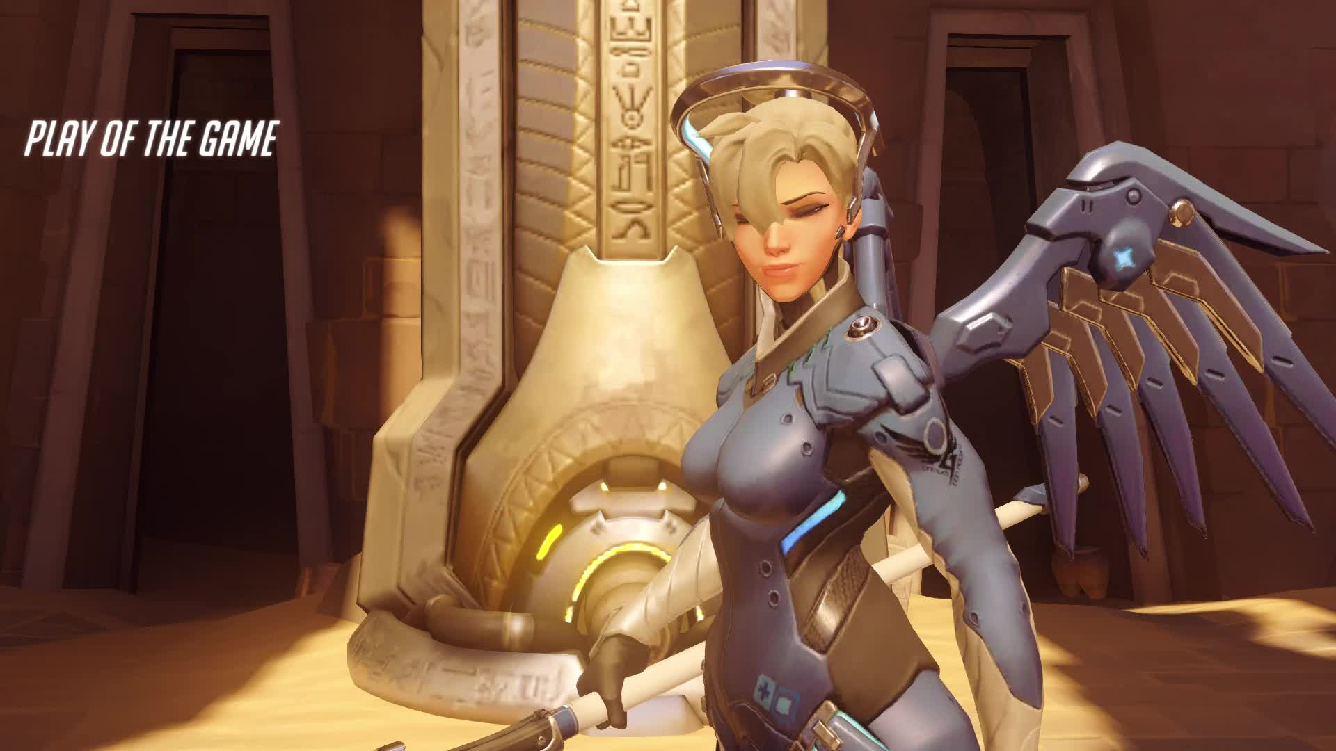 mercy, overwatch, potg, this is in diamond GIFs