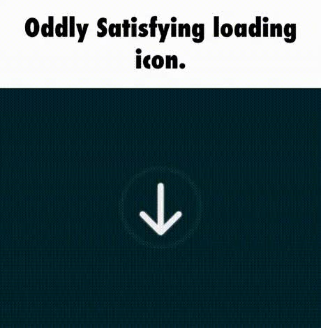 Watch and share Oddly Satisfying Loading Icon GIFs on Gfycat