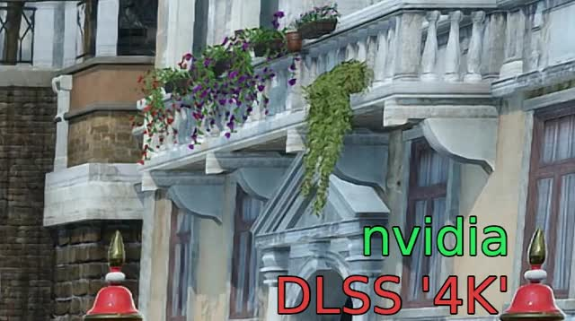 Watch and share Nvidia DLSS '4K' Vs FF15's TAA 4K (IMG C) GIFs on Gfycat