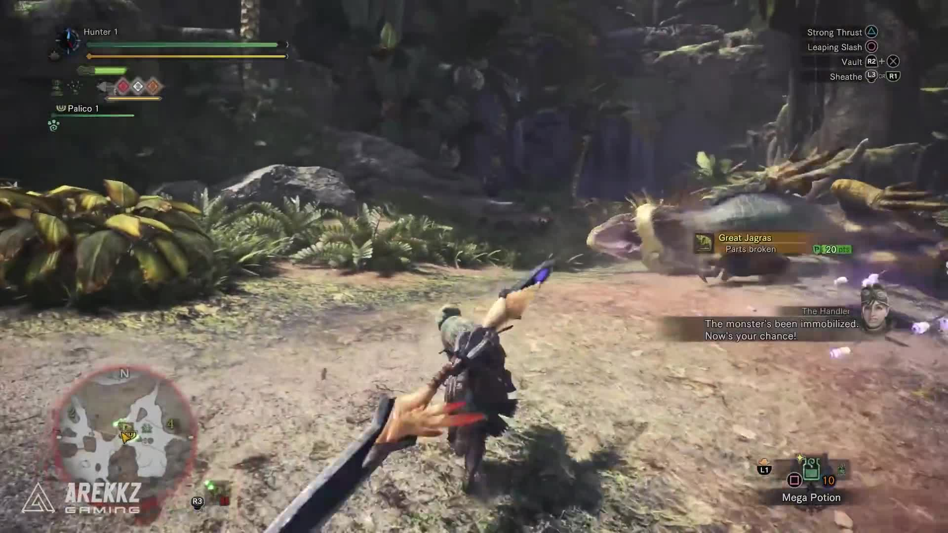 Monster Hunter World New Insect Glaive In Depth Gameplay Gif