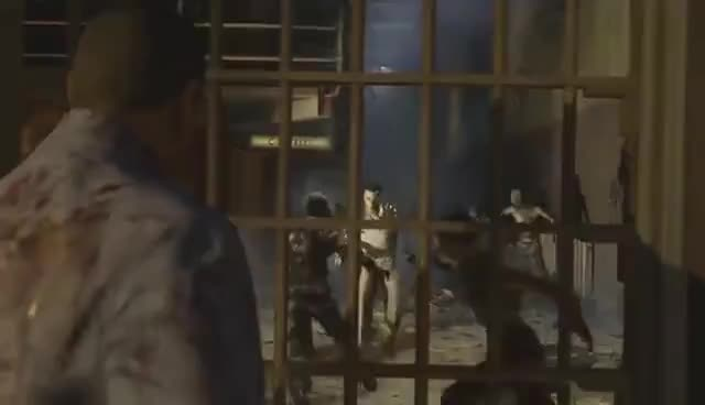 New Mob Of The Dead Gameplay Cinematic Intro! (Black Ops 2 Zombies) GIFs
