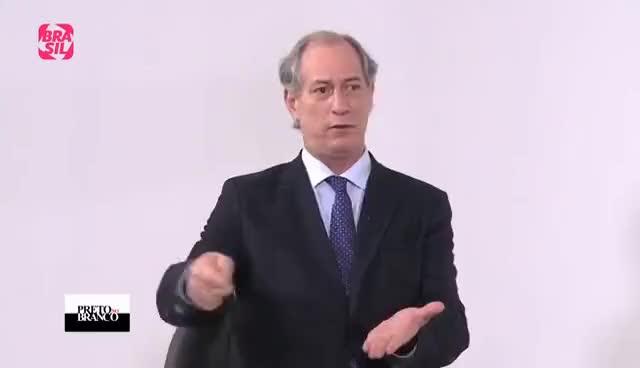 Watch and share Ciro Gomes Critica A Atuação Do PMDB E A Carta De Michel Temer GIFs on Gfycat