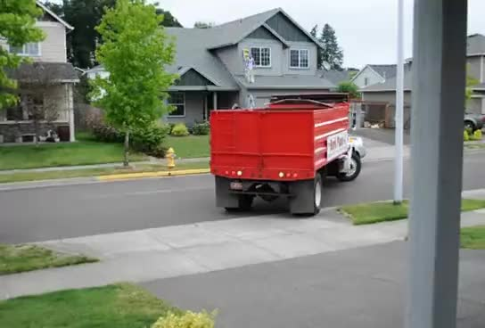 Watch and share Dump Truck Backing Up GIFs on Gfycat