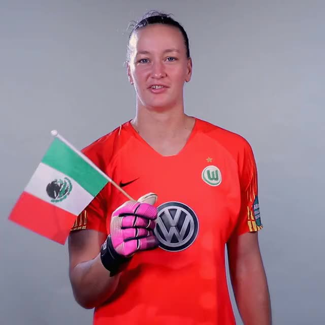 Watch and share 01 Flag MEX GIFs by VfL Wolfsburg on Gfycat