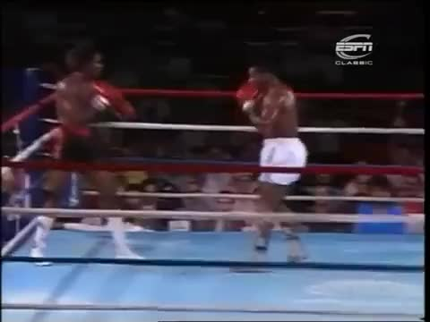 Watch Mike Tyson splits the jab. www.SugarBoxing.com GIF by sugarboxing on Gfycat. Discover more related GIFs on Gfycat