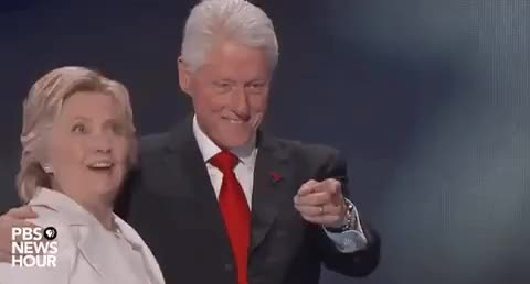 Watch and share Hillary Clinton GIFs and Bill Clinton GIFs on Gfycat