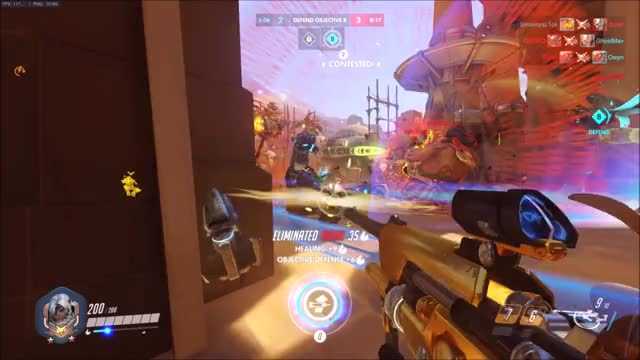 Watch Ana Clutch Moment GIF on Gfycat. Discover more overwatch GIFs on Gfycat