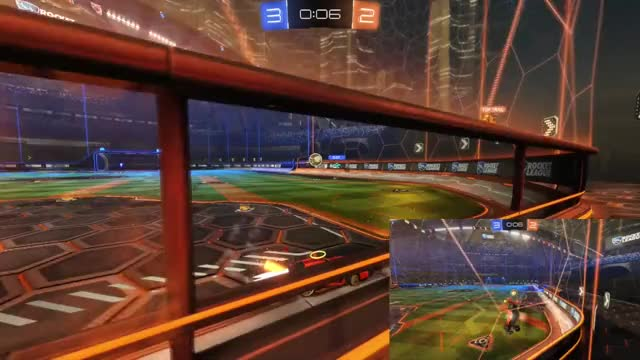 Watch and share Last Second Score GIFs and Rocket League GIFs by wuhoowinston on Gfycat