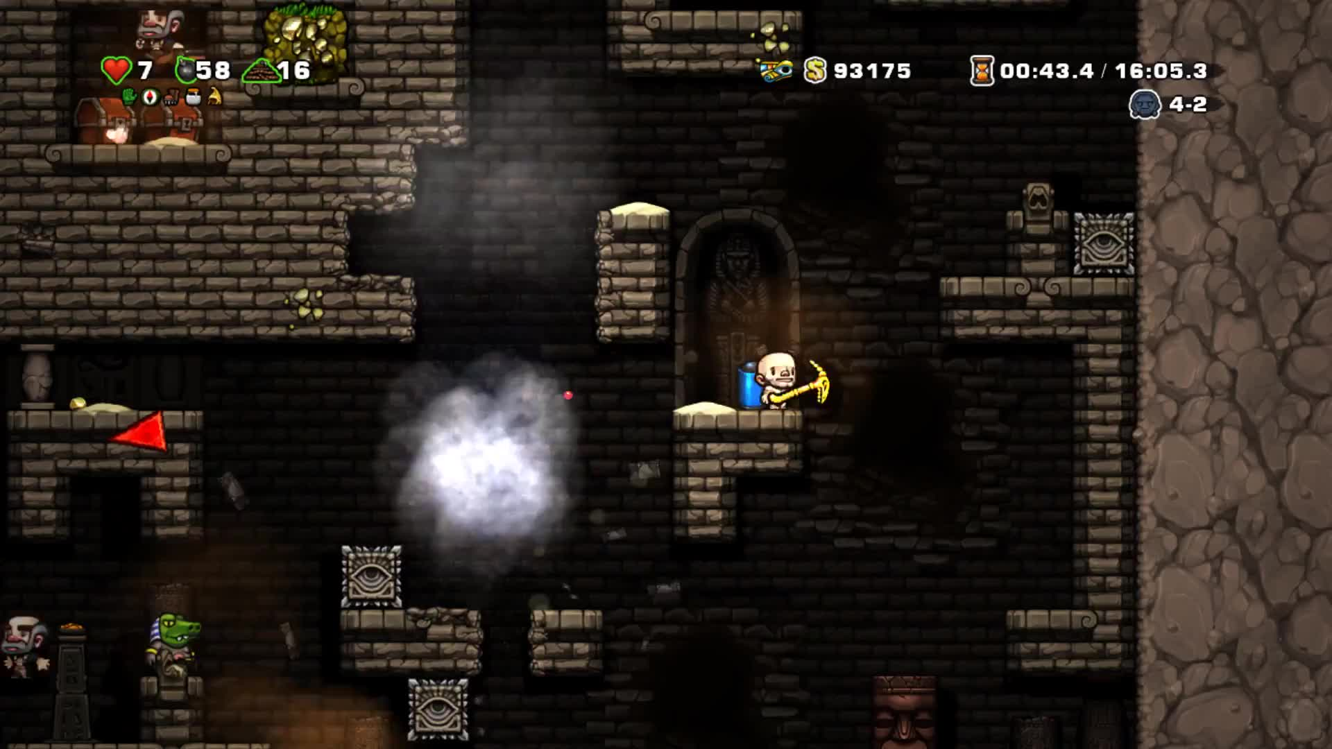 #GeForceGTX, #ShotWithGeForce, #Spelunky, Gaming, Spelunky | Shot with GeForce GIFs