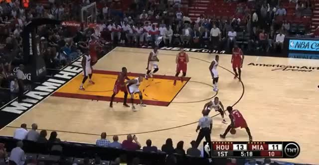 Watch and share Dwight Howard Dunks On Luol Deng, Chris Andersen GIFs on Gfycat