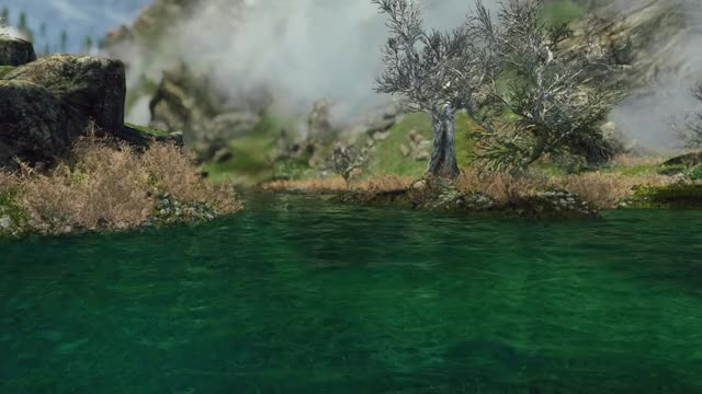 Watch and share Skyrim GIFs and River GIFs by Alexander452 on Gfycat