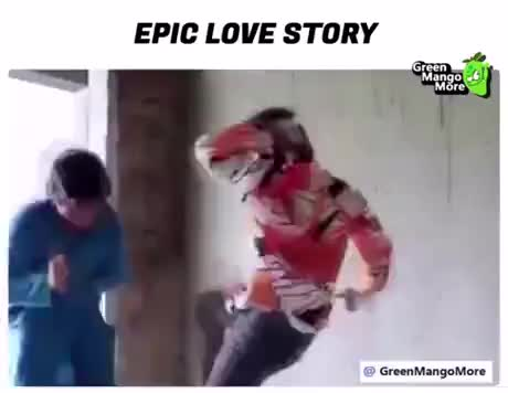 Epic love story gif