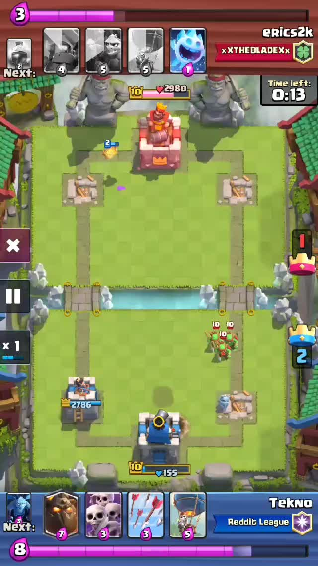 Watch He got what he deserved. GIF by @teknodaboi on Gfycat. Discover more Clash Royale GIFs on Gfycat