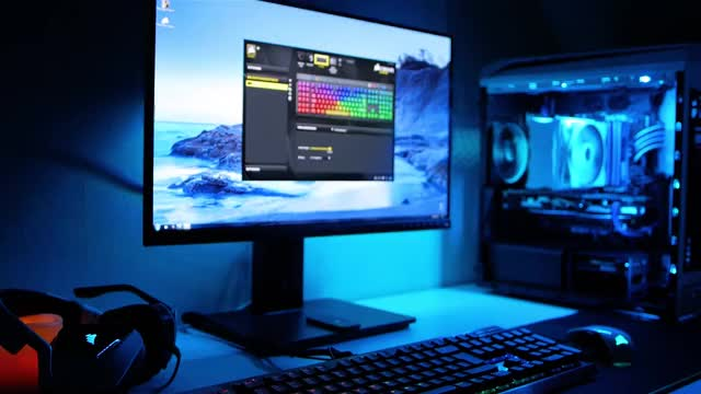 Watch Perfektes Gaming & Videoschnitt Setup GIF on Gfycat. Discover more desk setup tour, setup wars, ultimate desk setup GIFs on Gfycat