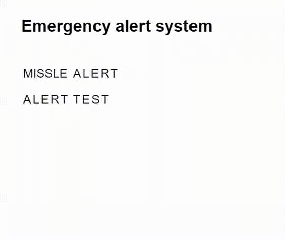 Watch Missle Alert GIF on Gfycat. Discover more related GIFs on Gfycat