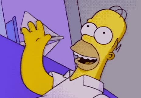Watch this bye GIF by GIF Queen (@ioanna) on Gfycat. Discover more adios, bye, cu, dream, farewell, god, goodbye, happy, homer, later, see, simpson, simpsons, smile, soon, to, wave, you GIFs on Gfycat