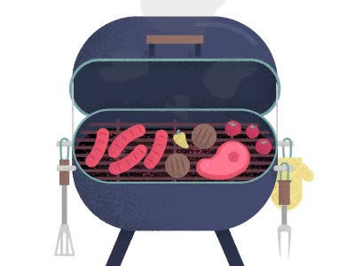 Watch and share Barbecue Grill GIFs on Gfycat