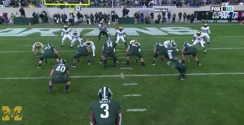 Watch and share Michigan State GIFs and Devin Bush GIFs by MGoBlog on Gfycat
