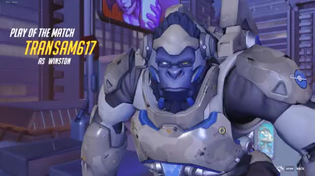 Watch and share Overwatch GIFs and Winston GIFs on Gfycat