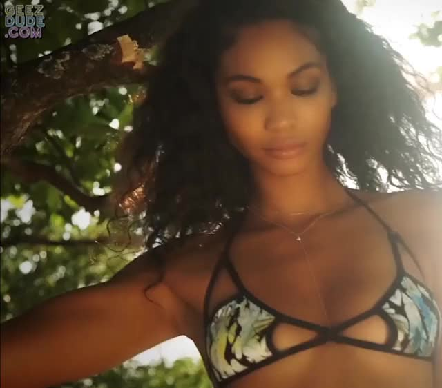 Watch and share Chanel Iman GIFs by Geez Dude on Gfycat