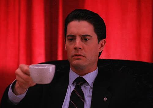 twin peaks, twinpeaks, twin peaks coffee agent cooper GIFs