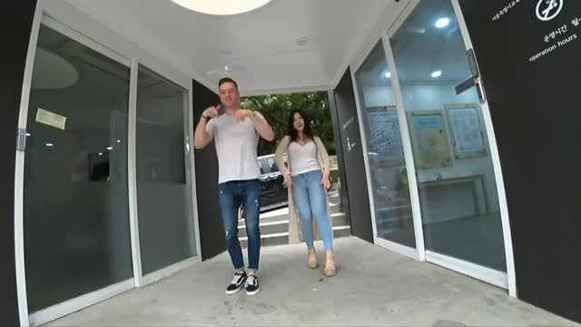 TT dance Mico & Jake / 제이크와 야방중 TT댄스추는 퀸미코