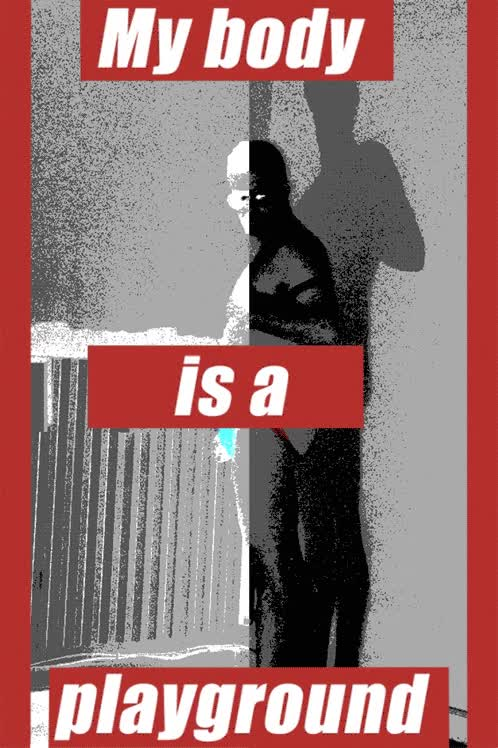 Watch and share AfterYour Body Is A Battleground, Barbara Kruger GIFs on Gfycat