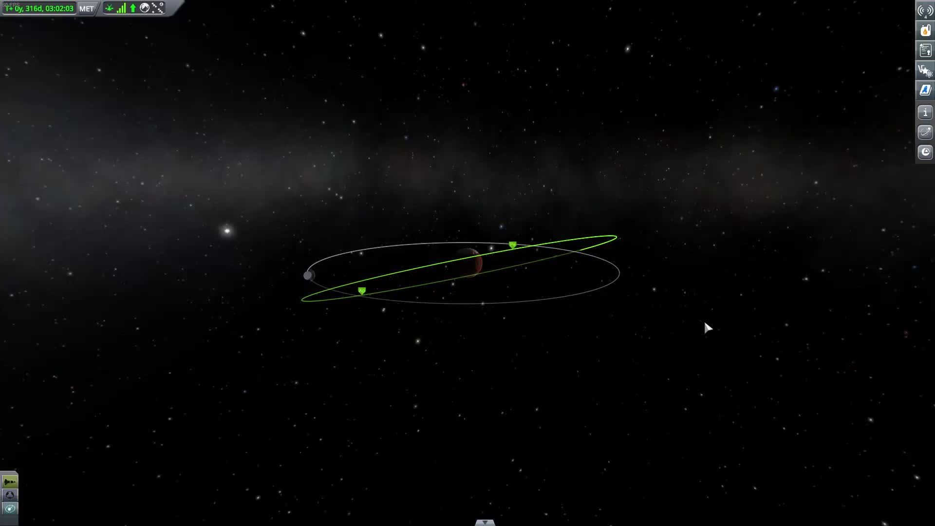 Kerbal Space Program - impossible orbit GIFs