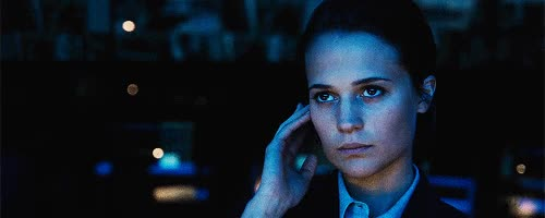 Watch and share Alicia Vikander GIFs on Gfycat