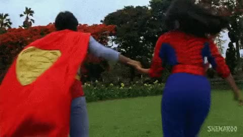 Watch and share Superman/Spiderman Dance-off! GIFs on Gfycat