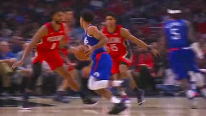 Watch and share Jerome Robinson And Montrezl Harrell — Los Angeles Clippers GIFs by Off-Hand on Gfycat