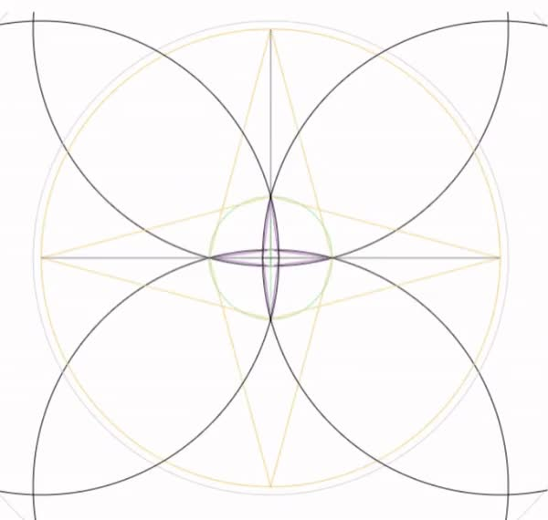 Watch and share Geometry GIFs and Breathe GIFs by Folding Circles on Gfycat