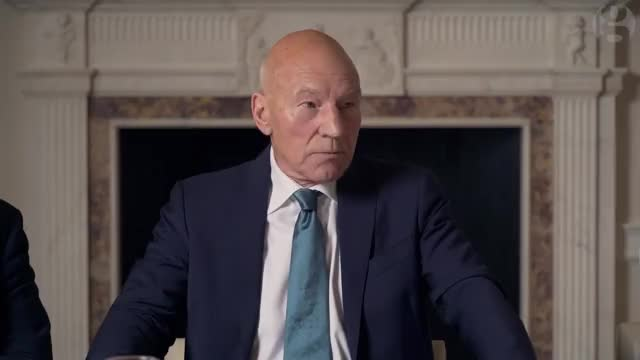 Watch and share Patrick Stewart GIFs by sgtbobrovsky on Gfycat