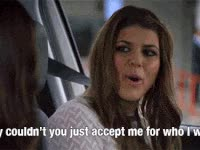 Watch and share Girl, Accept Me, Mtv, Mtv Awkward GIFs on Gfycat