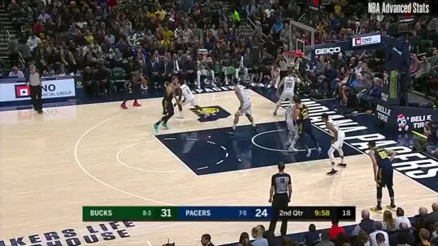 Watch and share Milwaukee Bucks GIFs and Indiana Pacers GIFs on Gfycat