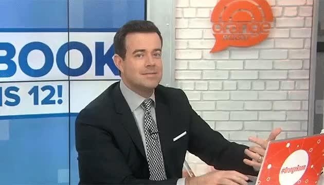 Watch and share Carson Daly Orange Room Face Fe GIFs on Gfycat