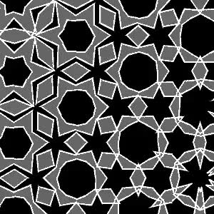 Watch and share Morphing Tiles Black And White GIFs on Gfycat