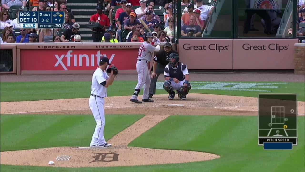 monsterdongs, redsox, Benintendi's first MLB home run GIFs